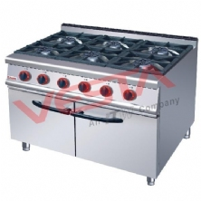 Gas Range With Cabinet JZH-RA-6