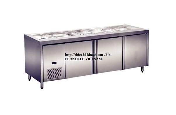 Tủ lạnh bàn sandwich 3 cánh