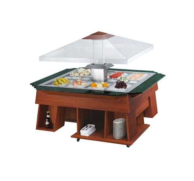 Máy móc công nghiệp: Tủ bầy salad bar nhập khẩu R197_1