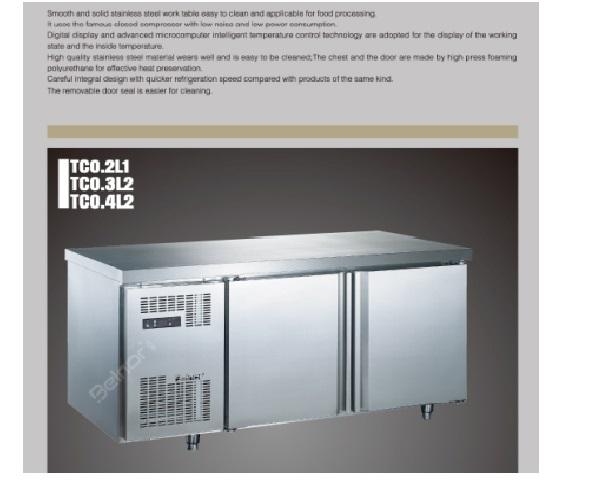 Tủ lạnh bàn 2 cánh TC0.2L1