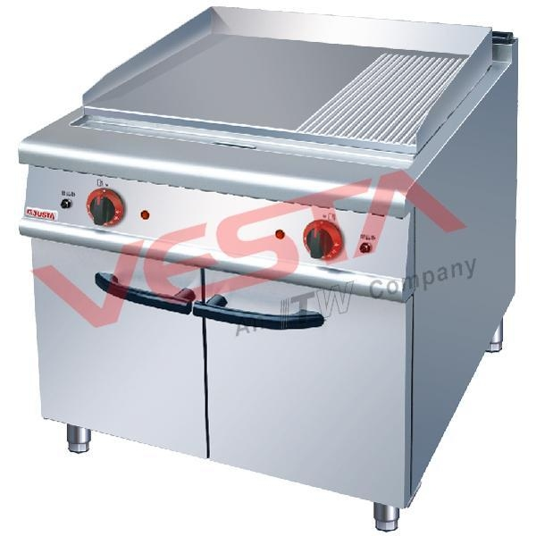 Electric Griddle (2/3 Flat&1/3 Grooved)With Cabinet ZH-TG