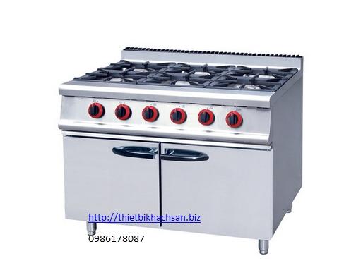 www.123nhanh.com: bếp âu 4 họng dùng gas có tủ